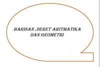 Rumus Deret Aritmatika