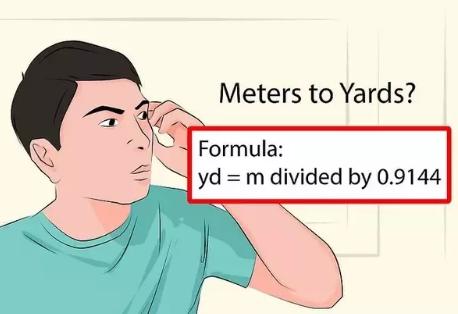 1 yard berapa meter