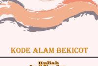 kode alam bekicot